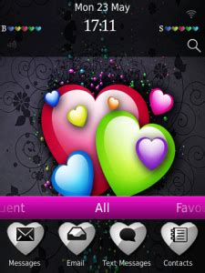 love themes blackberry beautiful love theme os6 0 for blackberry themes download
