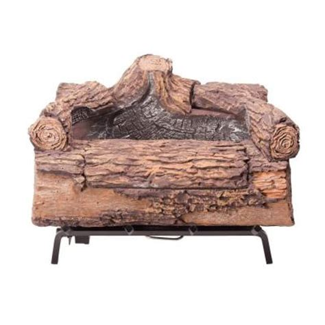 duraflame fireplace logs duraflame illuma 18 in bio ethanol fireplace logs 61000