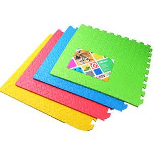 Floor Puzzle Mats For Babies Soft Foam Interlocking Crash Mats Floor Play