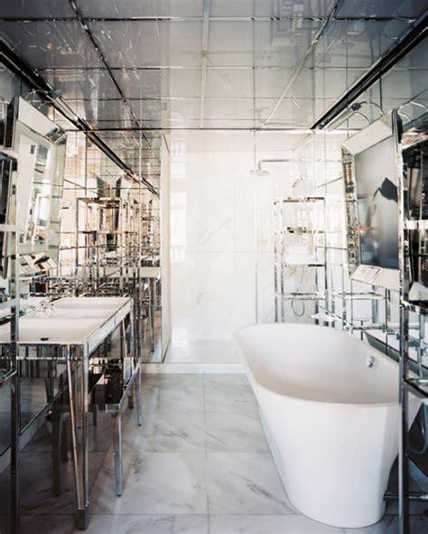 mirrored bathroom vanity french bathroom
