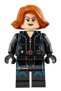 black widow characters marvel super heroes lego