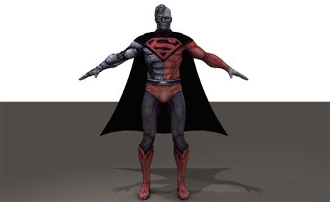 Kaos 3d Cyborg Superman Big Size cyborg superman poser sharecg