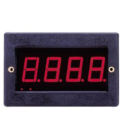 Digital Led Panel Meter 35 Digits voltcraft pm 129 led digital panel meter 177 199 9 mv assembly dimensions from conrad
