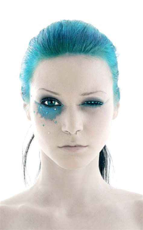 pirate makeup blue hair paint fav images amazing pictures