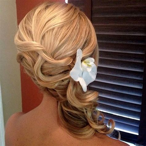 45 side hairstyles for prom to any taste
