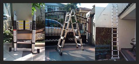 Tangga Aluminium 2m multi purpose ladder tangga aluminium lipat modern