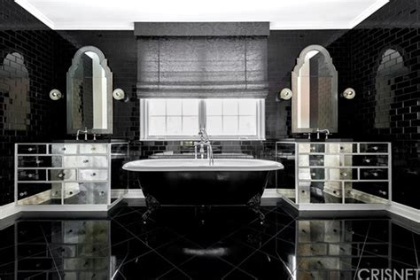 kris jenner bathroom kylie jenner house tour her calabasas ca starter home