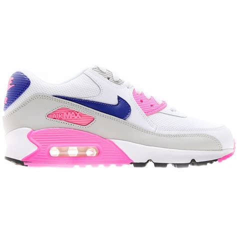 Nike Air Max 90 Weiß 2627 by Nike Air Max 90 Damen 2007 Gs Rosa Wei 195 Silber Pictures To