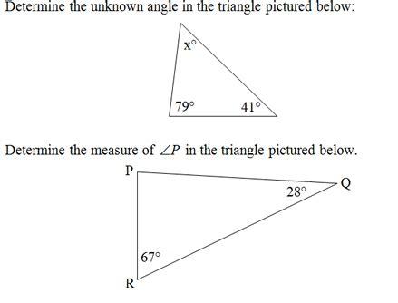 Triangle Angle Sum Worksheet by Triangle Interior Angles Worksheet Pdf And Answer Key