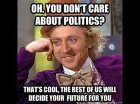Meme Politics - political apathy the left side of feminism