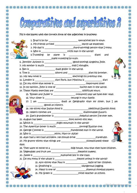 Award Letter Comparison Worksheet The Big Fish In A Small Pond Worksheet Free Esl Printable Worksheets Made By Teachers