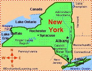 california map enchanted learning new york facts map and state symbols enchantedlearning