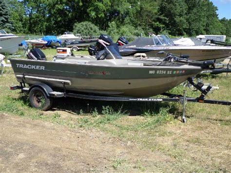 tracker boats used deep v tracker pro deep v 16 single console bass boats used in