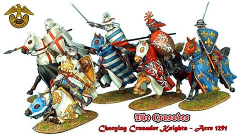Figure Great Warriors 4d Puzzle European Crusader crusader knights allies
