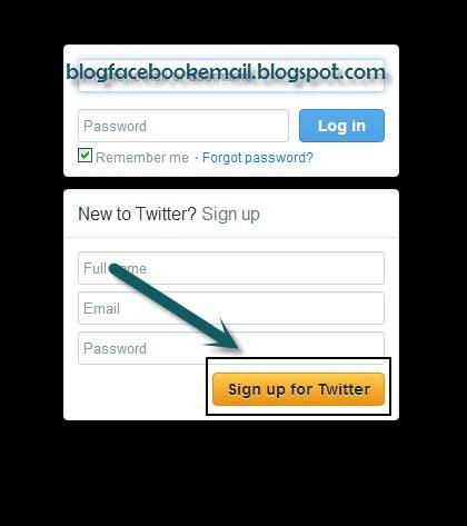 cara membuat twitter jadi private cara daftar membuat akun twitter baru langsung jadi
