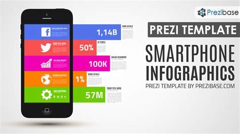 coloring book app template smartphone infographics prezi template prezibase