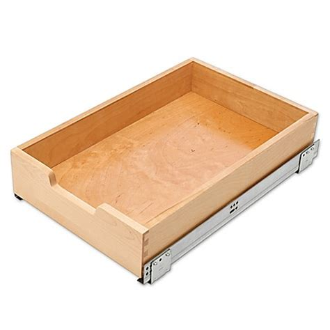 bed bath and beyond drawers rev a shelf 4wdb4 18sc 1 14 quot standard pull out drawer