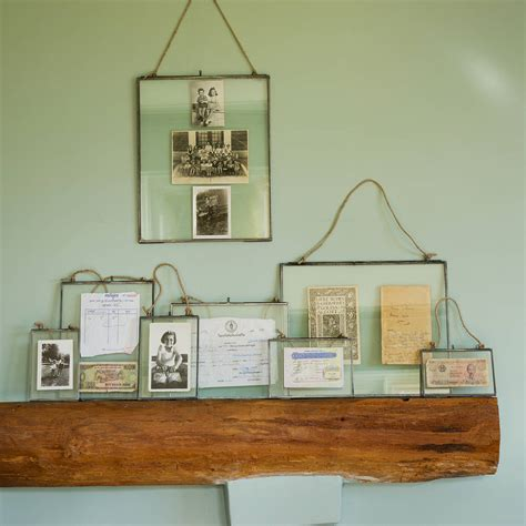 glass hanging frame by all things brighton beautiful