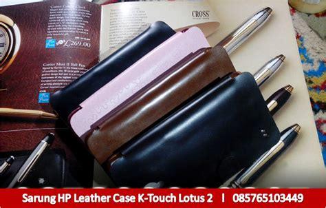 Casing Hp K Touch V908 leather untuk hp k touch lotus 2 ii menjual dan