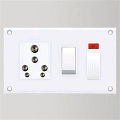 Switch Board 79 modular electric switch board with striking visual appearance complementing the interior