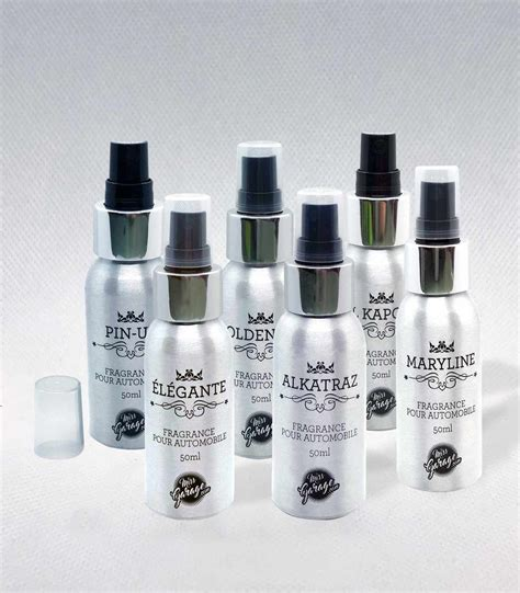 Parfum Voiture Lot Parfum Voiture Luxe 6 Flacons