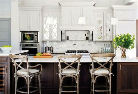 Mirrored Kitchen Cabinets by Mirrored Kitchen Cabinets Transitional Kitchen Style