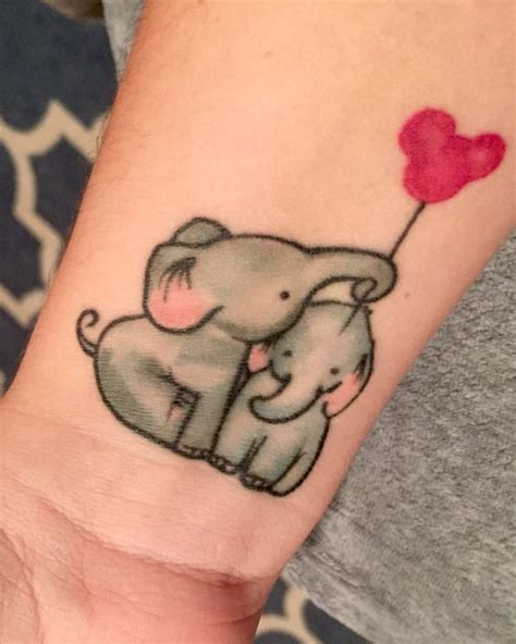 20 Cute Baby Elephant Tattoos For Girls 2 Baby Tattoos