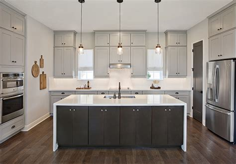 cabinets to go orlando fl two toned kitchen cabinet trend aw inspiring spaces