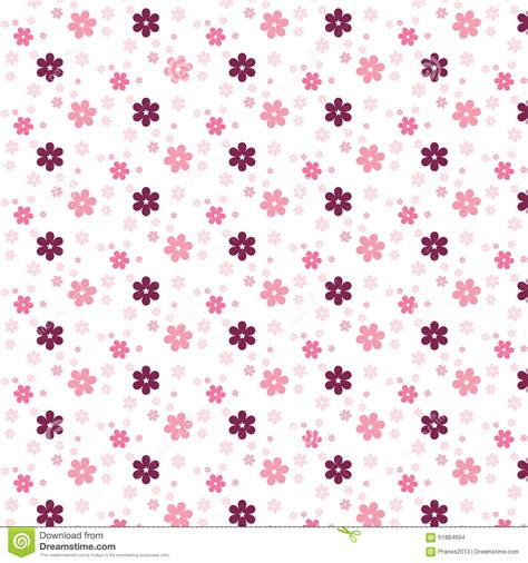 flower pattern stock illustrations simple pink flower pattern colorfulness cute stock vector