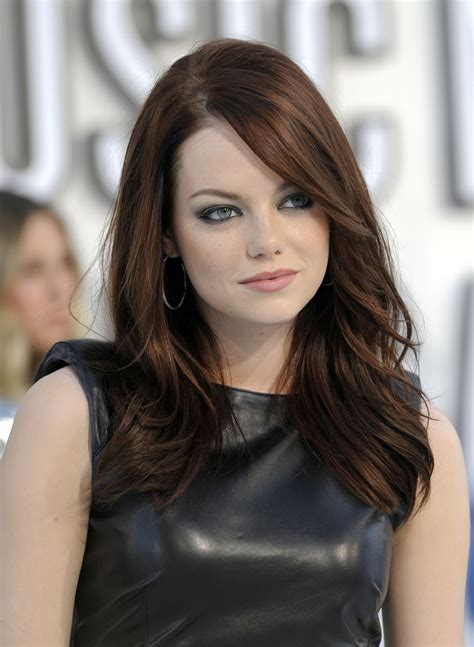 emma stone brown hair hollywood hot gallery pictures of emma stone hot emma stone