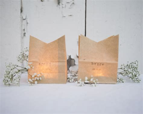 diy place cards diy luminaria place cards rustic wedding chic