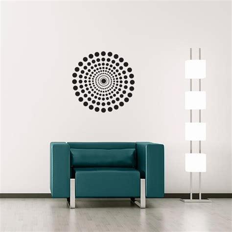 dot circle wall decal wall decal world - Circle Wall Stickers