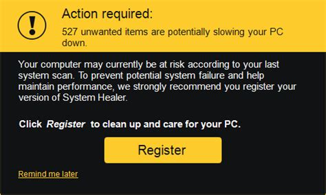how to uninstall system healer remove system healer how to remove