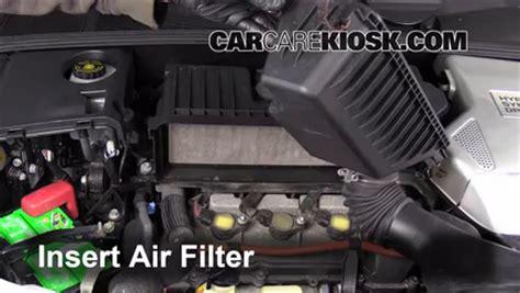 2006 Toyota Highlander Filter 2001 2007 Toyota Highlander Engine Air Filter Check 2006