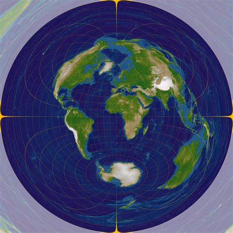 flat earth equidistant map projection file azimuthal equidistant n0e0 jpg wikimedia commons