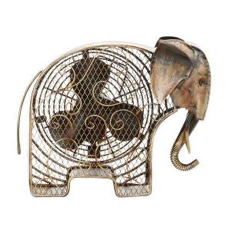 Elephant Ceiling Fan by Deco 7 In Figurine Fan Elephant Dbf0373 The Home
