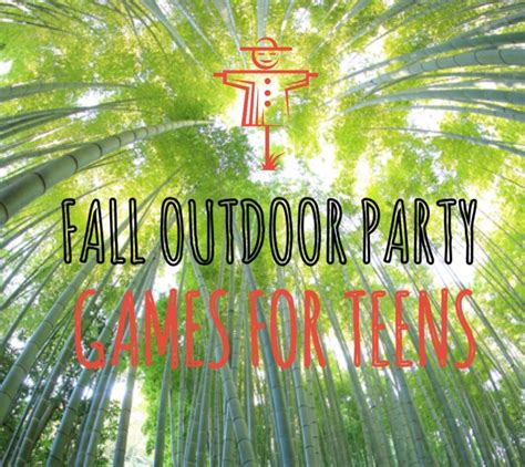 backyard games for parties fall outdoor party games for teens