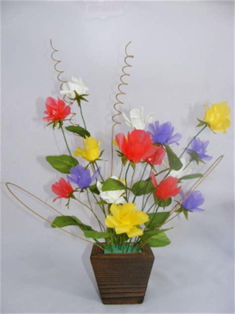 membuat bunga cantik  sedotan  love cute