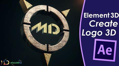 tutorial after effects logo 3d create a 3d logo element 3d after effects tutorial