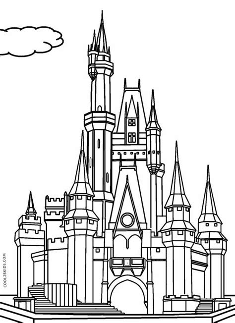 coloring pages disney castle 94 cinderella castle coloring book cinderella