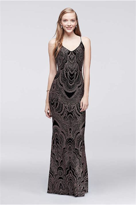 Dress Set Jump all lace prom dress with side slit skirt david s bridal