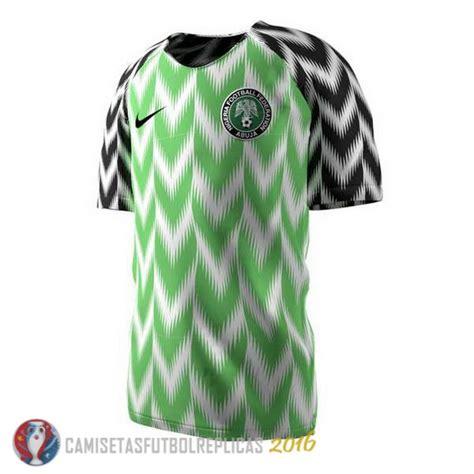 uniformes de camiseta nigeria primera 2018