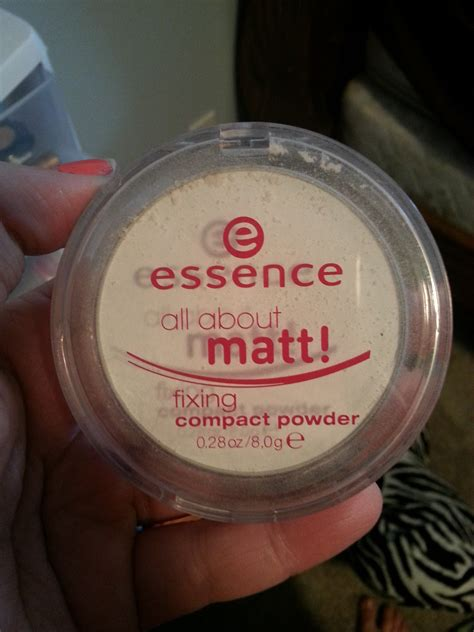 essence   matt fixing compact powder reviews