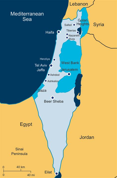 israel map today israel today bicom