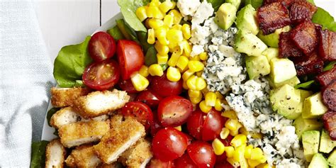 salad recipe ideas best breaded chicken cobb salad recipe how to make