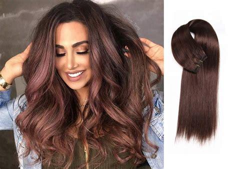 beautiful colored hair beautiful burgundy hair weave forever