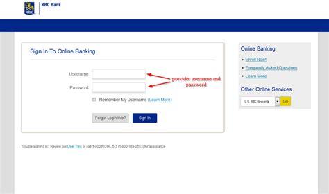 Reset Rbc Online Banking Password | rbc bank online banking login login bank