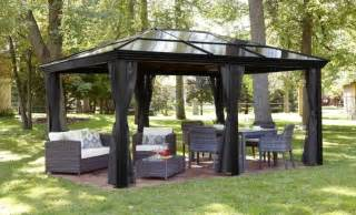 Patio Set Cover Round 34 Metal Gazebo Ideas To Enhance Your Yard And Garden With