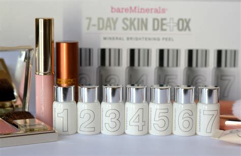 Bare Minerals Skin Detox Reviews by Bare Minerals 7 Day Skin Detox Mineral Brightening Peel