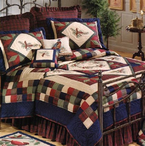Lodge Quilts Bedding by Whispering Pines Quilt And Lodge Bedding